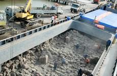 Huit mois: Les exportations de ciment augmentent en volume et en valeur