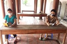 Hanoï : lecture, un passe-temps prisé au village de Vong Ngoai