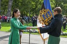 La présidente estonienne croit à une amitié renforcée avec le Vietnam