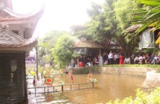 Le village de marionnettes sur l'eau de Dông Ngu cultive ses manies