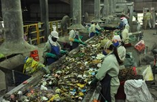 Mise en chantier d'une usine de valorisation énergétique des déchets à Hau Giang