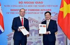 Le Vietnam et le Royaume-Uni publient une déclaration conjointe sur leur partenariat stratégique
