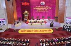 La présidente de l'AN Nguyen Thi Kim Ngan au Congrès du Parti de Hoa Binh