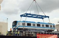 La ligne de métro n°1 à Hô Chi Minh-Ville accueille son premier train