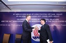 Célébration de la Fête nationale américaine et des 25 ans des relations diplomatiques Vietnam-USA