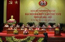 Le leader demande d'œuvrer au développement rapide et durable de Hanoi