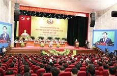 Ouverture du 17e Congrès de l'organisation du Parti de Hanoi