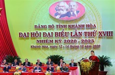 La présidente de l'AN demande de faire de Khanh Hoa un pôle de croissance