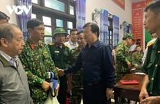 Glissement de terrain : Trinh Dinh Dung se rend à Phong Xuân