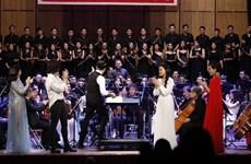 Soirée musique de films à l'opéra-ballet de Hô Chi Minh-Ville