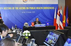 ASEAN : le groupe de travail de l'ACCWG-PHE se réunit en ligne