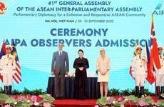 Les présidents de parlement félicitent le Vietnam pour l'AIPA-41