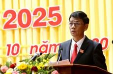 Soc Trang: Lam Van Man élu secrétaire du Comité provincial du Parti pour 2020-2025