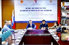 Webinaire sur le commerce entre le Vietnam et la Russie