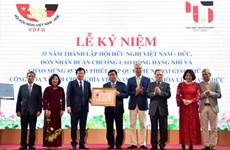 Célébration du 35e anniversaire de l'Association d'amitié Vietnam-Allemagne