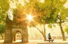 Le charme de l'automne de Hanoï