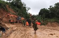 Quang Tri: trois soldats retrouvés morts, 19 disparus dans un glissement de terrain