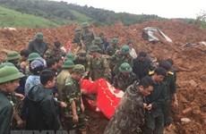 Les inondations ont fait 20 morts et 27 disparus à Quang Tri