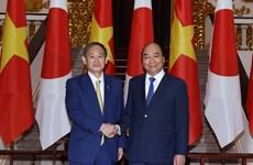 Entretien entre le PM Nguyen Xuan Phuc et son homologue japonais Suga Yoshihide