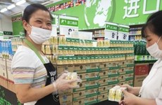 Les premiers produits laitiers vietnamiens vendus chez Walmart