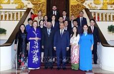 Le PM Nguyên Xuân Phuc reçoit le coordinateur de l'ONU au Vietnam