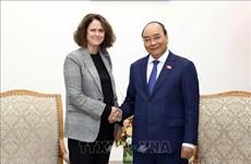 Le Premier ministre reçoit la directrice nationale de la Banque mondiale