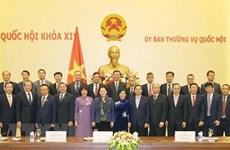 La présidente de l'AN reçoit des diplomates vietnamiens à l'étranger