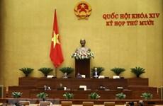 L'Assemblée nationale débat des projets de loi au 3e jour de sa 10e session