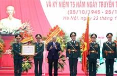 Le Département général du renseignement de défense à l'honneur