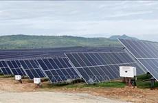 Une nouvelle centrale solaire inaugurée à Ninh Thuan