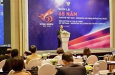 Les relations Vietnam-Indonésie, bilan et perspectives