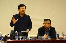 Le vice-PM Trinh Dinh Dung inspecte le travail de réponse au typhon à Quang Nam