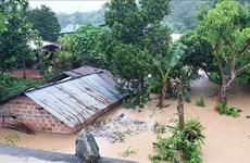 Continuer de faire face aux pluies et crues qui suivent le typhon Molave