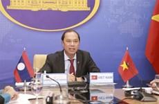 Consultation politique Vietnam-Laos