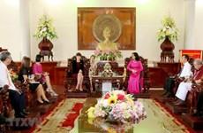 La ville de Can Tho intensifie sa coopération avec le Royaume-Uni