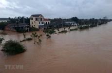 Au chevet de la population du Centre touchée par les inondations