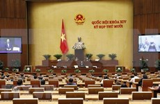 L'Assemblée nationale du Vietnam poursuit sa dixième session