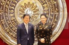 Vietnam-R. de Corée : entretien entre les deux chefs des organes législatifs