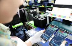 Les téléphones représentent près 48% du chiffre d'affaires total des exportations vers l'Ukraine