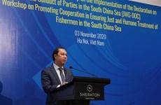 Promotion de la coopération ASEAN-Chine pour un traitement juste et humain aux pêcheurs