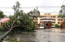 Après le Vietnam, le Laos se prépare au typhon Goni