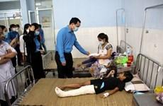 La CGTV au chevet des victimes des inondations dans le Centre