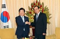 Hô Chi Minh-Ville accueille le président de l'AN sud-coréenne