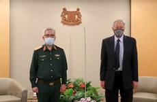 Le Vietnam et Singapour tiennent leur 11e dialogue sur la politique de défense