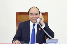 Le PM s'entretient au téléphone avec son homologue thaïlandais