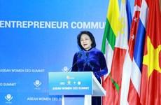La vice-présidente appelle à la solidarité entre les femmes d'affaires de l'ASEAN