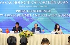 Conférence de presse sur le 37e Sommet de l'ASEAN et les réunions connexes