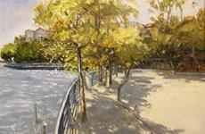 Hanoï: L'automne à Hanoï et l'ASEAN apparaissent dans les peintures