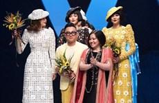 """Nguyên Công Tri pour ouvrir la """"Semaine de la mode internationale du Vietnam 2020 Aquafina"""""""