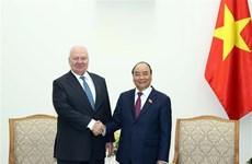 Le PM reçoit l'ambassadeur de Russie au Vietnam